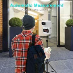 Newowo K3 Non-Contact Wall-Mounted automático de temperatura corporal, el Escáner digital de temperatura del termómetro por infrarrojos mano libre con pulsera &Dispenser higienizador