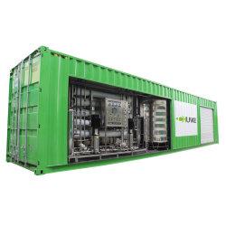 맞춤형 모델 컨테이너 역삼투 시스템 5t 물 필터 정제 장비 가격 RO 시스템 메모리 필터 시간당 5m3 순수 수상 장비