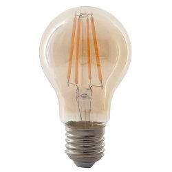 A60 황색 투명 4W 6W 핫 셀링 E27 LED 전구