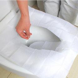 Dekking van de Zetel van het Toilet van het Document van de Hygiëne van 1/2 Vouw de Persoonlijke Beschikbare