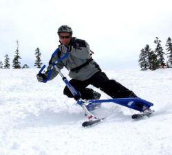 متطرّف رياضة منحدرة مزلجة عال سرعة بالجملة 3 ينحت ثلج زلاجة [سكوتر] لوح التزلج