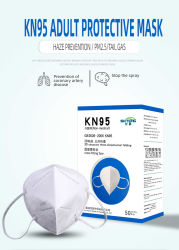La Chine de gros de masque de conception 3D, 5-Protection de la couche jetable de PM2,5, de virus KN95 masque Masque facial de sécurité