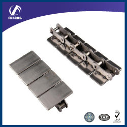 Tela plana de aço inoxidável superior da Corrente do Transportador da Transmissão