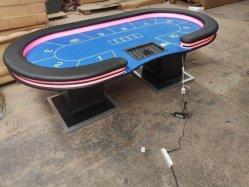 Novo design dos jogos de casino LED Mesa de pôquer Texas Instruments