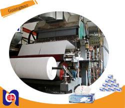 1760mm de la máquina de papel higiénico, papel Recycing planta de maquinaria industrial