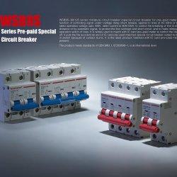 Миниатюрный литые случае воздух AC отключающая способность 6 ка 10ка вакуумный электрический выключатель миниатюрный прерыватель цепи (WSB9S-80/125) MCB