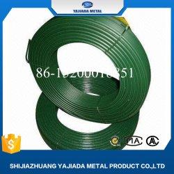 Cor a granel de arame de ferro galvanizado revestido de PVC para cabide