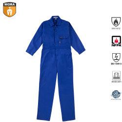 Hot de vendre des vêtements de travail Fr salopettes soudeur Costume Vêtements antistatiques