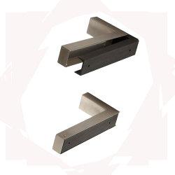 90 grados de trabajo pesado de hierro tabla decorativos de gran ángulo ajustable de acero inoxidable repisa en la pared Tabla de metal soportes plegables