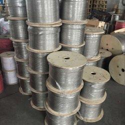 Galvanisiertes Stahldrahtseil 6X12 6X7 6X19 6X24 6X37