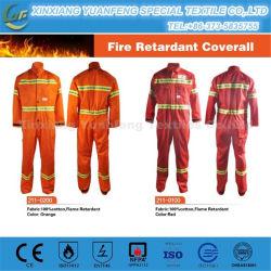 Корпус из негорючего материала защитной Coverall SMS/сопротивление Coverall пожарной безопасности