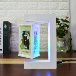 Магнитные Levitation акриловый изображение рамка для фотографий с индикатором
