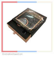 Выдвижной лоток для бумаги с жесткой рамой духи подарочная упаковка с окна из ПВХ