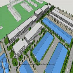 Hochhaus-Stahlkonstruktion-industrielle Halle konzipiert Parken-Stahl-Aufbau