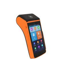 Máquina de tarjeta de crédito seguro punto de venta 5'' de Android con pantalla táctil Terminal POS PCI