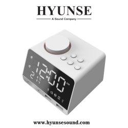 Haut-parleur Bluetooth multifonction numérique LCD Affichage de la température réelle de l'horloge d'alarme