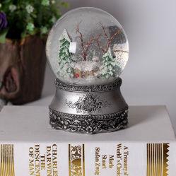 맞춤형 레진 스노우 글로브(Resin Snow Globe), 크리스마스 데코 음악