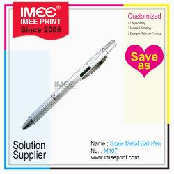 Logotipo personalizado grossista Iimee impresso função prejudicial Dom Metal Itens novidade caneta de Esferas