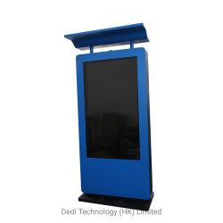 Dedi Touchscreen van 65 Duim de OpenluchtLCD Kiosk van de Reclame voor Busstation