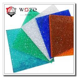 De plastic Bladen van de Bladen van het Comité van het Polycarbonaat/van het Polycarbonaat Poly In reliëf gemaakte Stevige