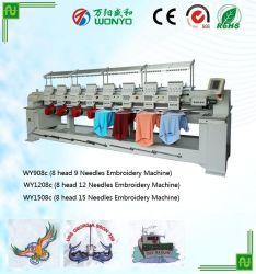 Macchina industriale del ricamo delle teste di alta velocità 8 di uso di Wonyo
