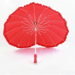 Forme de coeur personnalisé EVA Parapluie droites pour cadeau de promotion de la poignée (BR-ST-608)