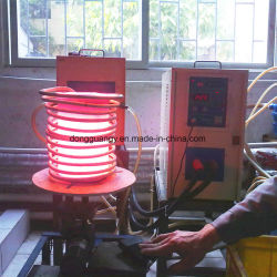 Riscaldatore a induzione ad alta frequenza per forgiatura di parti per uso automobilistico