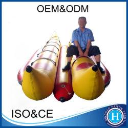 Durable le bateau banane gonflable 0,9 mm de PVC avec prix de gros