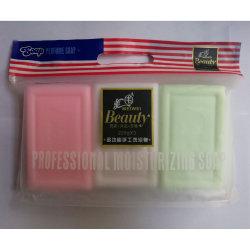 Parfum de fruits OEM haut la barre de lessive de savon la formation de mousse jaune