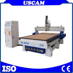 1325 4 rebajadora CNC de ejes 3D grabado en madera CNC máquina de carpintería de madera grabador para armarios muebles Silla de madera con tabla de vacío