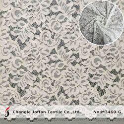 Accesorios del vestido de encaje bordado de encaje de cable de algodón tejido (M3460-G)