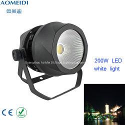 200Wは穂軸LEDの同価のアルミニウム段階装置の照明白を防水する