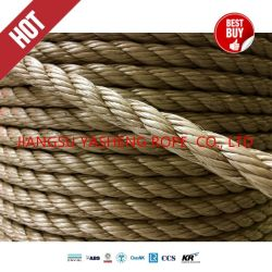 Umweltfreundliches 100% natürliches Sisal-Manila-Jutefaser-Garn-Seil