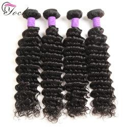 Onda profunda Cabelo Virgem Brasileira tecem 100 Remy Extensões de cabelo humano
