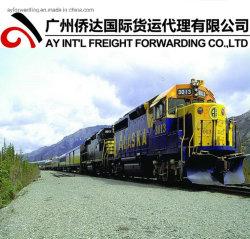 Afghanistan-Verschiffen durch Schienen-Transport