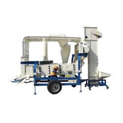 Máquina de limpieza de semillas de limpiador de semilla de frijol de grano de la máquina de procesamiento de la máquina la pantalla de aire
