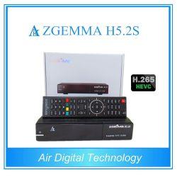 Hevc/H. 265 DVB-S2+S2 Twin Sat-тюнеры Zgemma H5.2s два ядра Linux OS E2 спутниковый ресивер