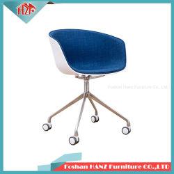 Hz-B301-E METADE tecido Capa Cadeira de Plástico moderno mobiliário de hotel