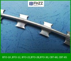 Bto 12 Haute Protection Fil en acier de fer barbelé concertina rasoir
