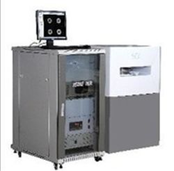 Distribuição de água NMR do analisador de Benchtop na ressonância magnética nuclear do núcleo da rocha do núcleo