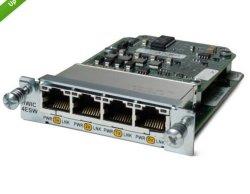 Nuevo HWIC-4esw= 4 puertos 10/100 Módulo Router Tarjeta de interfaz rápido