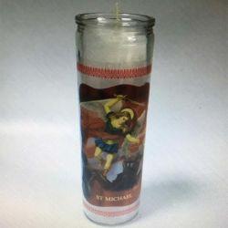 7 Houder van de Kaars van het Glas van de Kaars van de Kruik van het Glas van dagen de Godsdienstige