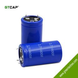 매우 낮은 ESR 및 대권한을%s 가진 사용 최고 축전기를 가동하는 2.7V 400F 자동차 사용