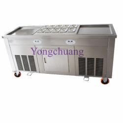 Высокое качество доски жареные мороженое машины с Panasonic компрессор