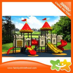 Cina nuovo fabbricazione bandiera Castello Slide in plastica per bambini