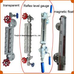Hg5 See-Through tipo Reflex Nivel Gauge-Water transparente de la mirilla de aceite, indicador de nivel de flotador magnético