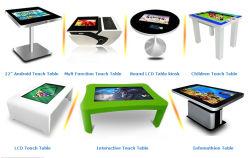 شاشة عرض الإعلانات باللمس وشاشة عرض LCD ومشغل إعلان إنترنت وشاشة عرض رقمية وخدمة ذاتية لطلب الطعام محطة الدفع كشك المعلومات التفاعلية