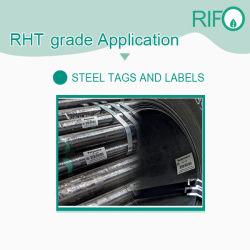 Les étiquettes de carte de circuit haute température, l'acier industriel Heatproof étiquette