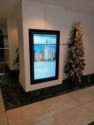 La publicité Yashi 49pouces LCD Media Player monté sur un mur la signalisation numérique