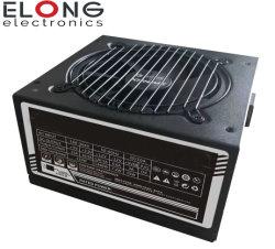 Alimentazione elettrica di gioco dell'alimentazione elettrica del modulo 750W con il ventilatore del Rainbow di RGB, coperchio nero, autoadesivo rosso dell'OEM del coperchio